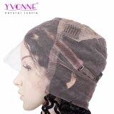 Парики фронта шнурка человеческих волос девственницы волны Yvonne глубокие для цвета чернокожих женщин естественного освобождают перевозку груза
