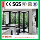 Luxuxbalkon-Aluminiumfalz-Tür