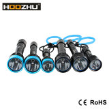 Lúmens do diodo emissor de luz Xml2 U3 do CREE de Hoozhu D11 1000 Waterproof a luz brilhante super do mergulho de 120m