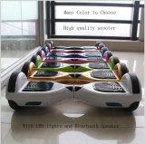 """Robô movente o """"trotinette"""" elétrico do melhor balanço da roda de Hoverboard dois"""