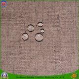 가정 직물에 의하여 길쌈되는 커튼 직물에 의하여 혼합되는 폴리에스테 리넨 커튼 직물 방수 Fr 정전 커튼 직물