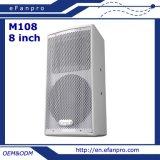 Eine 8 Zoll-Berufssitzungs-Lautsprecher-Audiogeräte (M108) aussondern