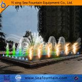 Type extérieur fontaine de combinaison de syndicat de prix ferme de modèle de Seafountain de musique de multimédia