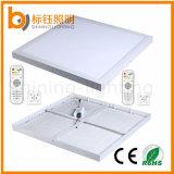 400 * 400mm 30W Plafonniers carrés Dimmable LED Panel avec télécommande