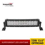 "13 "" 72W 반점 플러드 결합 광속에 의하여 구부려지는 LED 표시등 막대"