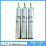De naadloze Gasfles ISO9809 van Co2 van het Argon van de Waterstof van de Zuurstof van het Staal
