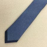 Mão - costume magro laço impresso feito de lãs para homens