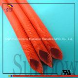 Sleeving Glasfaser-Hülse des silikonumhüllten Fiberglas-1.2kv