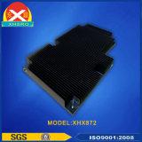 Dissipatore di calore di alluminio d'annerimento d'ossidazione per l'alimentazione elettrica