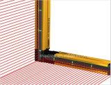 Cer-anerkannter industrieller Druck-Sicherheits-Sicherheits-Licht-Vorhang-Aluminiumfühler