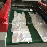 機械を作る二重線の高速Tシャツ袋