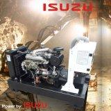Generador silencioso diesel de la energía eléctrica de Kanpor Kpi33 Isuzu 24kw 30kVA
