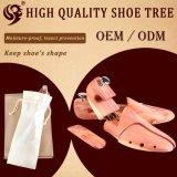 快適なデザイン調節可能で自然な木の安いヒマラヤスギの靴の木、靴の看守