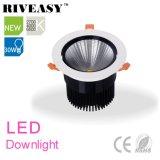 diodo emissor de luz Downlight do alumínio 30W com o projector do diodo emissor de luz de Ce&RoHS