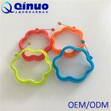 blaue FDA Bescheinigung-Silikon-Ei-Ring-Pfannkuchen-Form