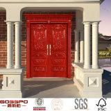 Madre china mayorista y Hijo de entrada de madera de doble puerta (GSP1-011)