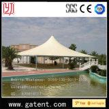 Tienda extensible de la cortina de la piscina del agua de la prueba de la prueba al aire libre de Sun