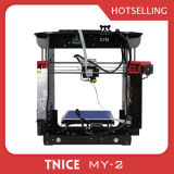 Imprimante en aluminium chaude de l'appareil de bureau DIY 3D de Fdm de structure de la vente 150*150*150mm