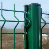 中国優れたPVC上塗を施してある網の塀2.0 x 2.5 M