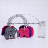 Lumière féerique de chaîne de caractères de couleur multi de batterie de forme d'éléphant pour le décor de jardin d'intérieur de chambre à coucher