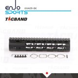 CNC-machinaal bewerkte Super Slanke Vrije Vlotter Keymod 9 Zwarte van het Spoor van het Spoor W/Picatinny van Handguard van de Duim de Hoogste