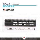 Tacband cNC-Machinaal bewerkte Super Slanke Vrije Vlotter Keymod 9 Zwarte van het Spoor van het Spoor W/Picatinny van Handguard van de Duim de Hoogste