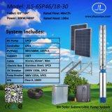 насосная система погружающийся 6inch 30kw солнечная, Borehole наилучшим образом, система земледелия