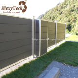 Valla de seguridad durable del aluminio WPC del diseño único para el jardín