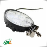 туман управляя с автоматических запасных частей, водоустойчивый светильник тележки SUV 4WD автомобиля потока 18W СИД круглый/светильника пятна Offroad освещения 12V 24V