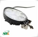 18W LED Round Flood / Spot Lamp Carro Offroad Truck SUV 4WD Fog Driving Off Peças de reposição automática, impermeável 12V 24V Lighting Lamp