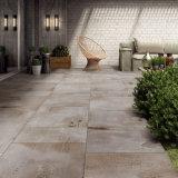 Los azulejos de suelo esmaltados rústicos más nuevos de la porcelana para el jardín