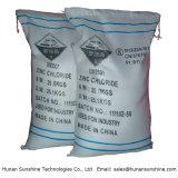 99.5% Surtidor industrial superior del cloruro del cinc del grado para la batería seca
