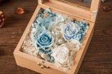 Regalo conservato di legno del fiore per la decorazione domestica