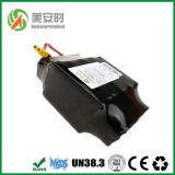 Paquete recargable de la batería de litio de la alta calidad 18650 36V 4.4ah 10s2p para la vespa