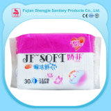 Matières premières des prix de blocage de femmes confortables bon marché d'humidité pour des serviettes hygiéniques