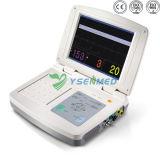 Monitor paciente del parámetro multi cardiaco médico de las muestras vitales del hospital