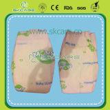 Productos gruesos del bebé de los pañales del bebé de la cinta de algodón de la hoja mágica de la parte posterior