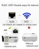 ホーム、ビジネスおよび学校のためのWiFiの多機能の小型3Dプロジェクター