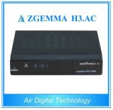 マルチメディアプレーヤーボックスZgemma H3。 ACサテライトレシーバのLinux OS Enigma2 DVB-S2+ATSCのチューナー