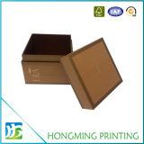 Оптовым изготовленный на заказ выбитая логосом бумажная косметическая коробка подарка