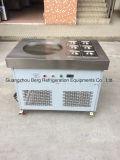 As bandejas redondas da bandeja 6 da eficiência elevada uma fritaram a máquina do rolo do gelado