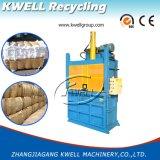 Presse hydraulique verticale de bouteille d'animal familier de machine de presse à emballer de carton