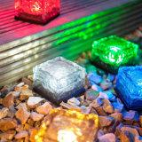 다채로운 태양 강화된 점화 Auton 얼음 벽돌 유리 지하 빛
