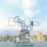 In het groot 6 duim - de lange Gealigneerde Waterpijp van het Glas van de Installaties van de SCHAR van de Recycleermachine met 10mm Verbinding