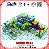 Apparatuur van de Speelplaats van de Kinderen van de Stijl van het kasteel de Commerciële Binnen met Trampoline