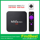 Ursprünglicher Mxq PROandroider Kasten S905X 2g/8g WiFi Fernsehapparat-4K