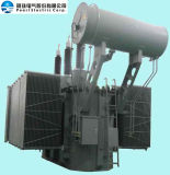 220KV klasse in olie ondergedompelde Transformator van de macht (maximaal 150MVA)