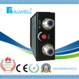Conector del Ontario ONU con el receptor óptico del Triple Play