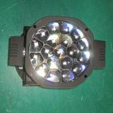 19X15W abeja de ojos DMX LED de la viga principal móvil de la iluminación de DJ