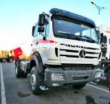 420HP Beiben 트럭 트랙터 헤드 6X4 V3 벤즈 기술